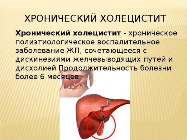 Энтерогенные заболевания печени и желчного пузыря