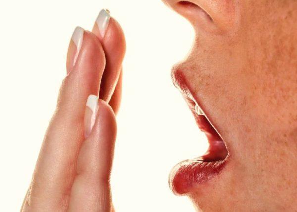 запах изо рта желчный пузырь